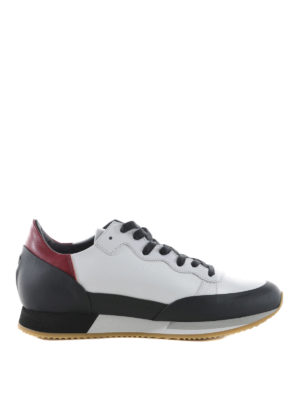 Philippe Model: trainers - Bright leather sneakers