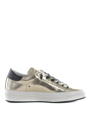 Philippe Model: trainers - Classic Lakers metallic sneakers