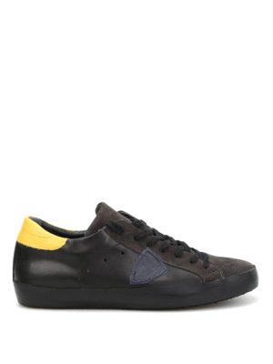Philippe Model: trainers - Classic leather and suede sneakers