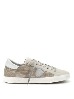 Philippe Model: trainers - Classic perforated suede sneakers