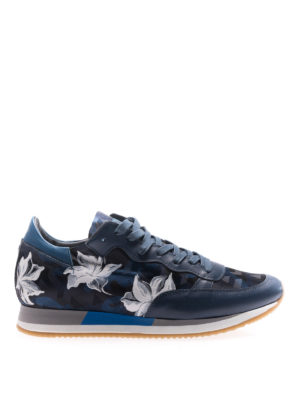 Philippe Model: trainers - Etoile Amarillis painting sneakers