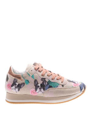 Philippe Model: trainers - Etoile Bulldog canvas sneakers