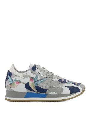 Philippe Model: trainers - Etoile Tropical Bird bleu sneakers
