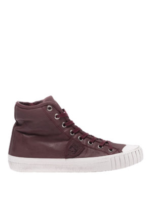 PHILIPPE MODEL: sneakers - Sneaker high top Gare bordeaux