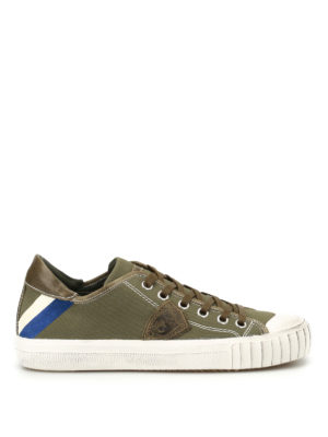 Philippe Model: trainers - Gare canvas sneakers
