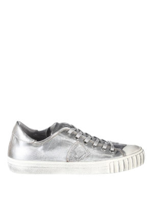 Philippe Model: trainers - Gare laminated sneakers