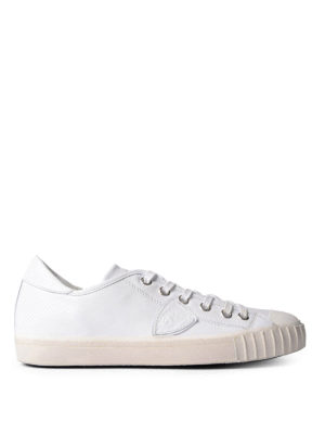 Philippe Model: trainers - Gare low top leather sneakers