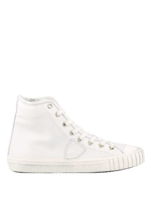 PHILIPPE MODEL: sneakers - Sneaker high top Gare bianche