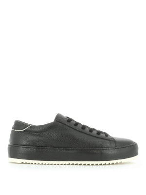 Philippe Model: trainers - Grained leather sneakers
