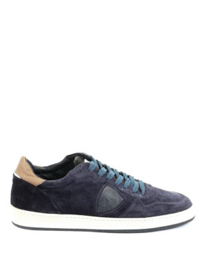 Philippe Model: trainers - Lakers blue suede sneakers