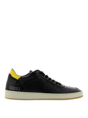Philippe Model: trainers - Lakers calfskin trainers