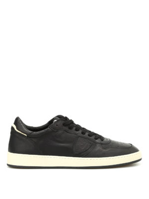 Philippe Model: trainers - Lakers low top leather sneakers