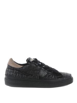 Philippe Model: trainers - Lakers matelasse sneakers