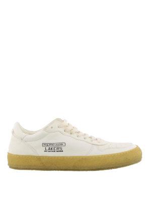 PHILIPPE MODEL: sneakers - Sneaker Lakers Vintage in pelle bianca