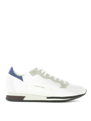 Philippe Model: trainers - Leather and suede sneakers