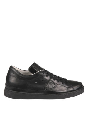 Philippe Model: trainers - Leather low-top sneakers