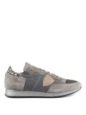 PHILIPPE MODEL: sneakers - Sneaker Tropez grigio chiaro