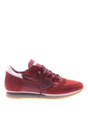 Philippe Model: trainers - Low top Tropez Mondial red sneakers