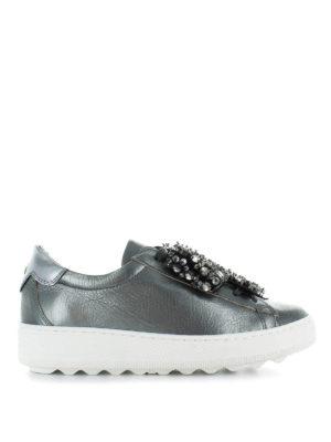 PHILIPPE MODEL: sneakers - Sneaker Madeleine con decorazione Swarovski