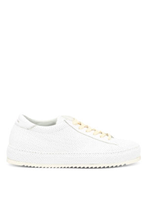 Philippe Model: trainers - Noah perforated leather sneakers