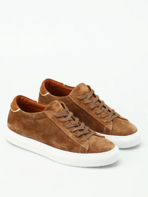 Philippe Model: trainers online - Avenir low top suede sneakers