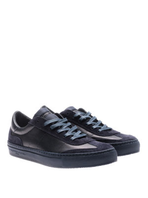 Philippe Model: trainers online - Belleville blue low top sneakers