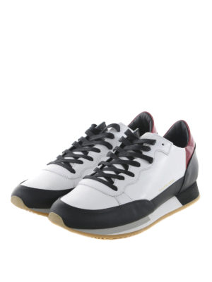 Philippe Model: trainers online - Bright leather sneakers