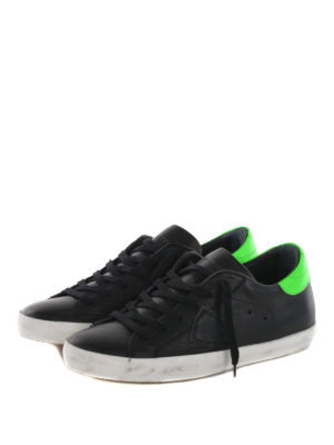 Philippe Model: trainers online - Classic fluo back sneakers