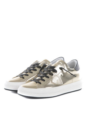 Philippe Model: trainers online - Classic Lakers metallic sneakers