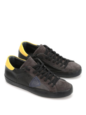 Philippe Model: trainers online - Classic leather and suede sneakers