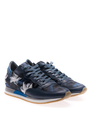 Philippe Model: trainers online - Etoile Amarillis painting sneakers