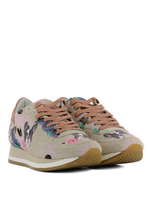 Philippe Model: trainers online - Etoile Bulldog metal rose sneakers