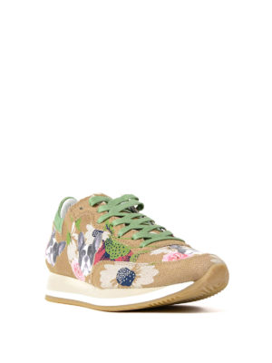 Philippe Model: trainers online - Etoile Bulldog straw sneakers