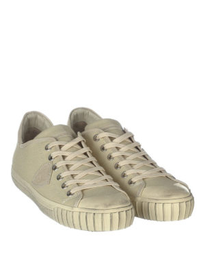 Philippe Model: trainers online - Gare canvas low top sneakers