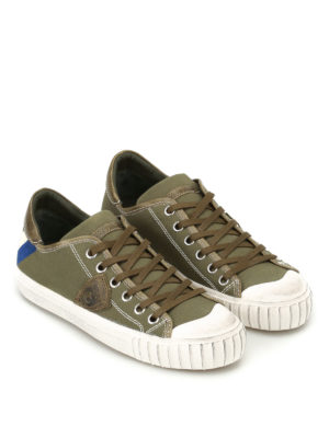 Philippe Model: trainers online - Gare canvas sneakers