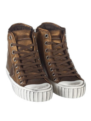 Philippe Model: trainers online - Gare coated cotton sneakers