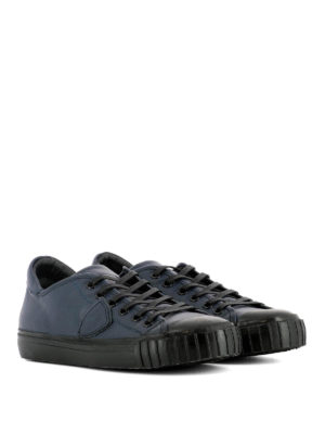 Philippe Model: trainers online - Gare leather low top sneakers