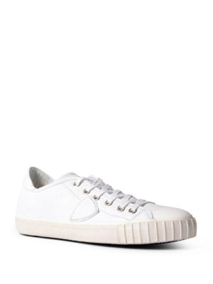 Philippe Model: trainers online - Gare low top leather sneakers