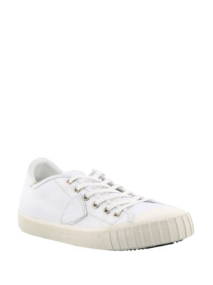 Philippe Model: trainers online - Gare white low top sneakers