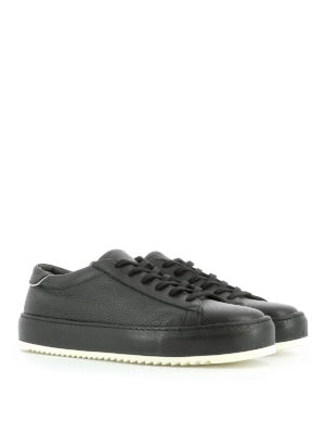 Philippe Model: trainers online - Grained leather sneakers
