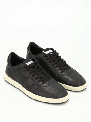 Philippe Model: trainers online - Lakers low top leather sneakers