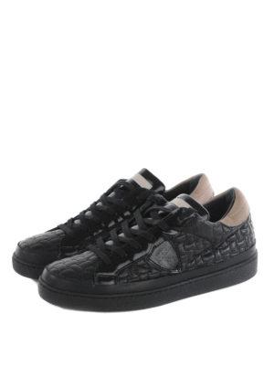 Philippe Model: trainers online - Lakers matelasse sneakers