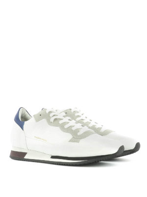 Philippe Model: trainers online - Leather and suede sneakers