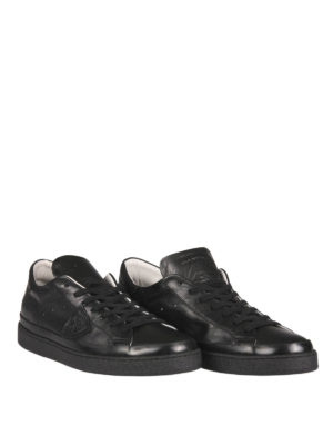 Philippe Model: trainers online - Leather low-top sneakers