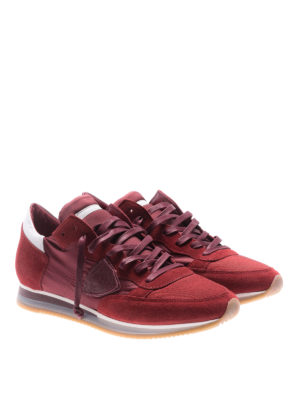 Philippe Model: trainers online - Low top Tropez Mondial red sneakers