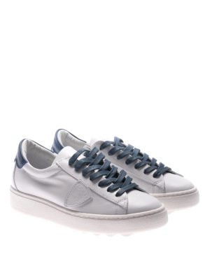 Philippe Model: trainers online - Madeleine blue laces white sneakers