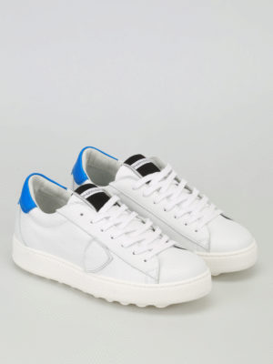 Philippe Model: trainers online - Madeleine white and blue sneakers