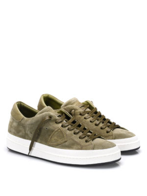 Philippe Model: trainers online - Opera suede sneakers