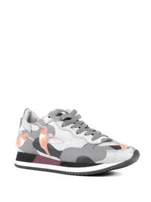Philippe Model: trainers online - Paradis graphic pattern sneakers