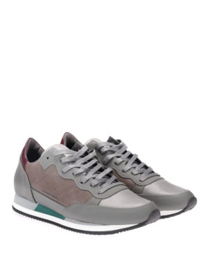 Philippe Model: trainers online - Paradis leather sneakers